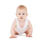 Bébé de rampement Images stock