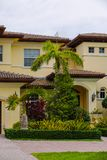 Photo of a luxury mansion closeup detail shot Stock Photography