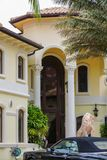 Rich Home mansion in South Florida Stock Photo