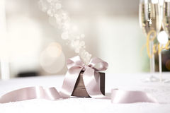 Image of luxury gift. Royalty Free Stock Images