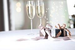 Image of luxury gift. Royalty Free Stock Photo