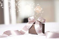 Image of luxury  gift. Royalty Free Stock Photography