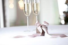 Image of luxury New Year gift. Stock Photos