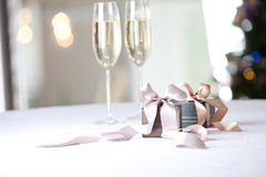 Image of luxury New Year gifts Stock Photos
