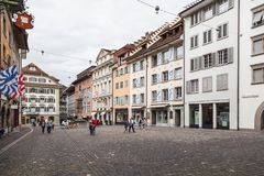 City of Luzern, Switzerland Stock Image