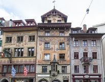 City of Luzern, Switzerland Royalty Free Stock Photos