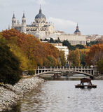 Image of Madrid. In Spain Stock Photos