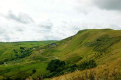 Mam Tor. An image of Mam Tor in the English Peak District stock images