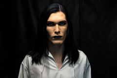 Image of man's make up Royalty Free Stock Images