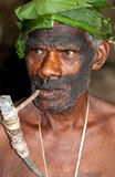 Image of a man from Vanuatu Stock Images