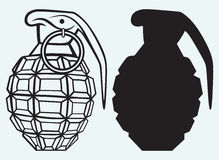 Image of an manual grenade Stock Images