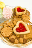 Image of many cookies stock photo