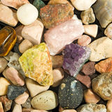 Image of many stones closeup Stock Photography
