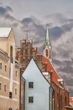 Architecture in Riga Latvia Royalty Free Stock Photography