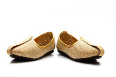 Image of men's Indian wedding shoes Royalty Free Stock Photos