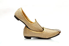 Image of men's Indian wedding shoes Royalty Free Stock Photography