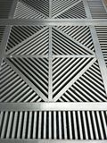 Metal Grille Covers stock photo