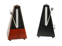 The image of metronomes Royalty Free Stock Photo