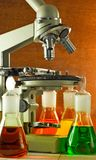 Image of microscope Royalty Free Stock Images