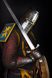 Image of mighty warrior Royalty Free Stock Images