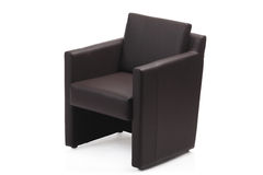 Image of a modern armchair Royalty Free Stock Images