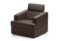 Image of a modern leather armchair Stock Photo