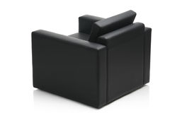 Image of a modern leather armchair Royalty Free Stock Images