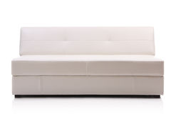 Image of a modern leather sofa Royalty Free Stock Image