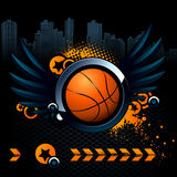 Image moderne de basket-ball Photographie stock