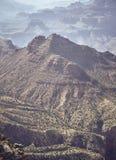 Image modifiée la tonalité par couleur de Grand Canyon, Etats-Unis images libres de droits