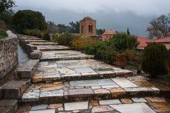 Image of  monastery of St. Luke near Delphi Stock Image