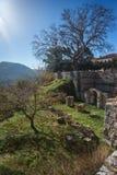 Image of  monastery of St. Luke near Delphi Stock Photography