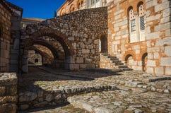 Image of  monastery of St. Luke near Delphi Royalty Free Stock Photos