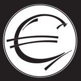 Euro icon  vector illustration Stock Photography