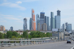 Image of Moscow City Stock Image