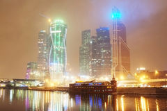 The image of Moscow city Stock Image