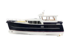 The image of a motor boat Royalty Free Stock Photos