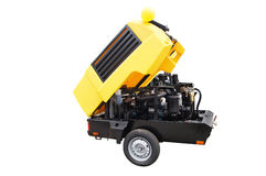 The image of a movable compressor Stock Photography