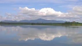 This image is lake of sri lanka. This image is natural beautiful real lake of sri lanka stock image