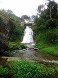 This image is natural waterfall pudalu oya. This image is natural real beautiful waterfall of sri lanaka pudalu oya stock photo