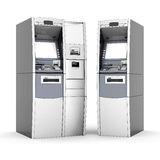 Image of the new ATM Royalty Free Stock Photos