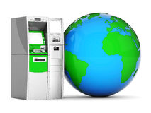 Image of the new ATM Stock Photo