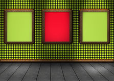 Image of a nice floor red green for your content light shadow Stock Photo