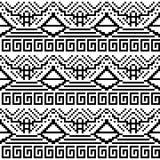 Image noire et blanche des formes géométriques illustration stock