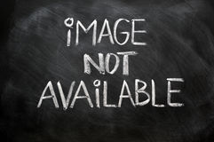 Image non procurable images libres de droits