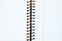 Image of a notebook in blank Stock Images