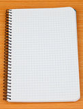 Image of a notebook in blank Royalty Free Stock Photo