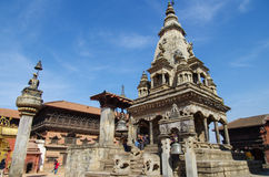 Nyatapola Temple,  Nepal Royalty Free Stock Images