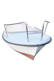 Image of an oared boat Royalty Free Stock Photos