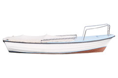 Image of an oared boat Royalty Free Stock Images